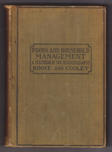 Image for Foods and Household Management :  A Textbook of the Household Arts