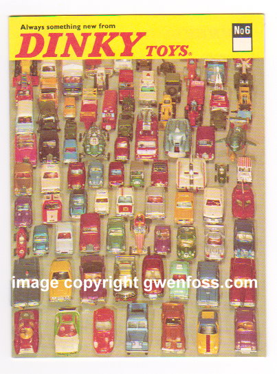 Image for Dinky Toys 1970 :  Catalog No. 6, Always Something New from Dinky Toys