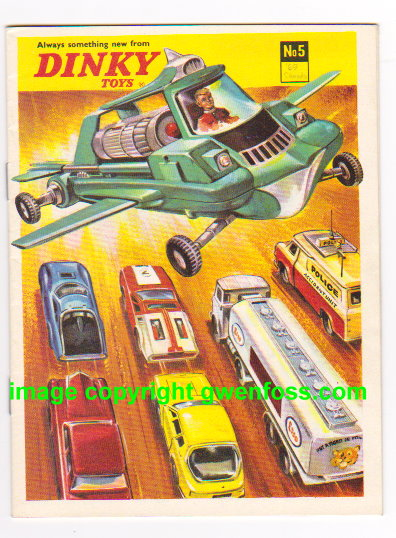 Image for Dinky Toys 1969 :  Catalog No. 5, Always Something New from Dinky Toys, West Germany