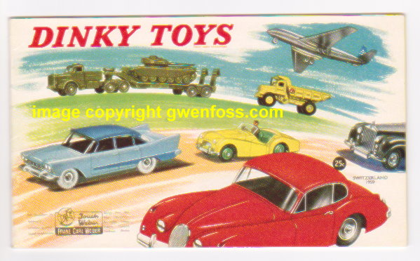 Image for Dinky Toy Catalog 1959 :  Swiss Edition (Switzerland)