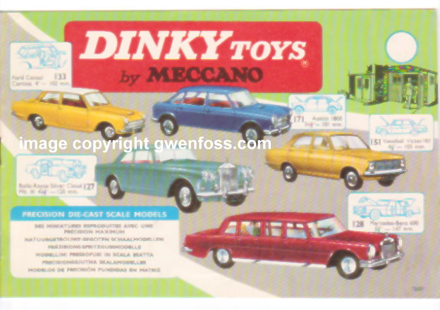 Image for Dinky Toy Catalog 1965 :  Canadian Edition