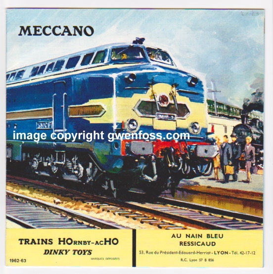 Image for Meccano Trains, Hornby-Acho, Dinky Toys :  1962-1963 Catalog, French Edition