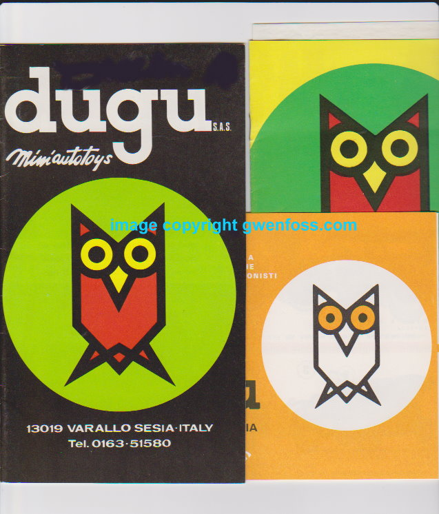 Image for Dugu Miniautotoys :  Varallo Sesia, Italy, Scala 1: 43 (Lot of 8 Catalogs and Ephemera)
