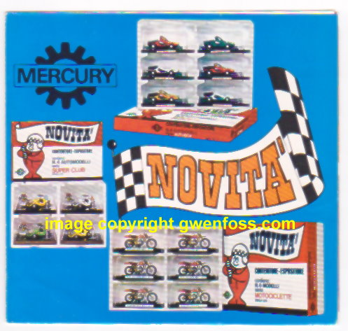 Image for Mercury 1971 :  Novita Scala 1:43