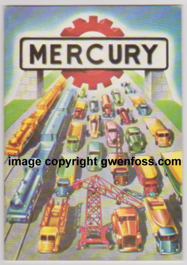 Image for Mercury Toy Catalog 1950 :  Ristampa Catalogo Mercury 1950, Marco Bossi Editore 1976