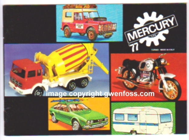 Image for Mercury Toy Catalog 1977 :  Scala 1:43