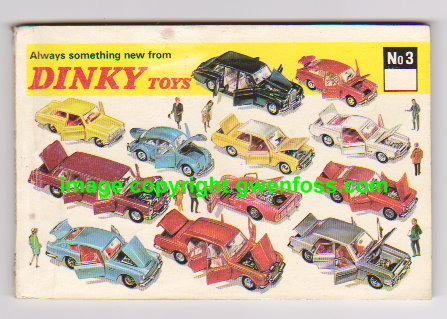 Image for Dinky Toy Catalog No. 3 :  Number 3, 1967