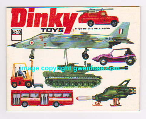 Image for Dinky Toys 1974 :  Catalog No. 10
