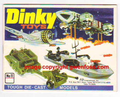 Image for Dinky Toys 1975 :  Catalog No. 11