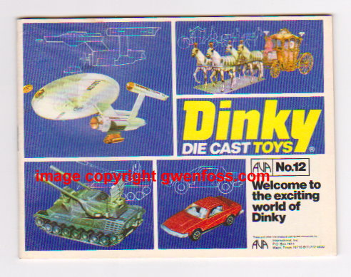 Image for Dinky Toys 1976 :  Catalog No. 12