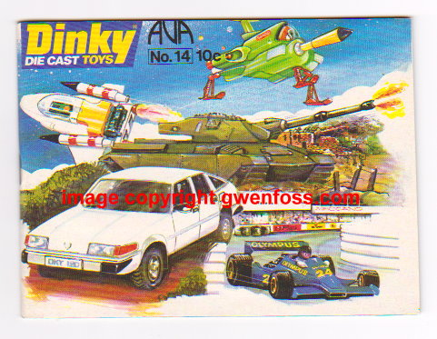 Image for Dinky Toys 1978 :  Catalog No. 14