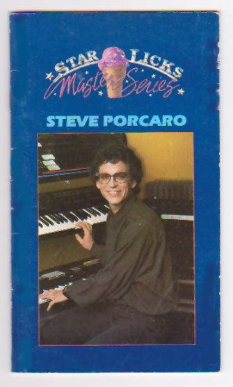 Image for Star Licks Master Series :  Steve Porcaro