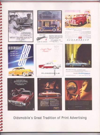 Image for Oldsmobile's Great Tradition of Print Advertising :  1900s-1990s