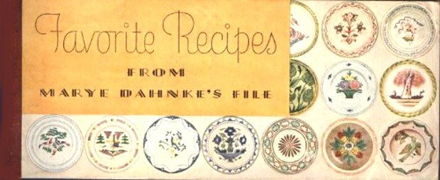 Image for Favorite Recipes from Marye Dahnke's File :  1936 (Kraft Cheese)