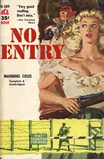 Image for No Entry  (1st Paperback Edition, 1958)