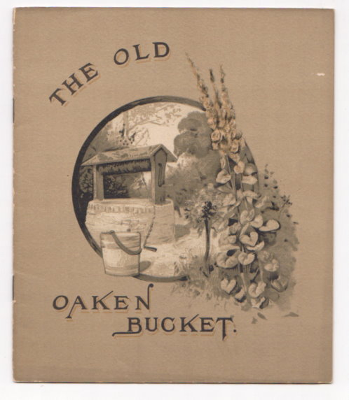 Image for Old Oaken Bucket, the :  Promotional Item for Leonard Benjamins, the Old Reliable Clothier, Grand Rapids, Michigan