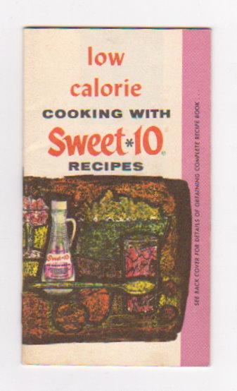 Image for Low Calorie Cooking with Sweet 10 :  Recipes