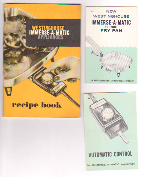 Image for Westinghouse Immerse-A-Matic Appliances Recipe Book :  Instructions, Recipes