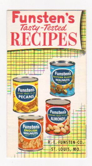 Image for Funsten's Tasty Tested Recipes :  R. E. Funsten Company, St. Louis, Missouri