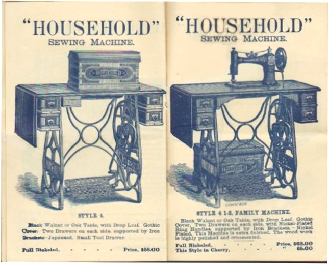 Image for Household Sewing Machine, the :  For Household Purposes, Manufacturing and Export, 1887
