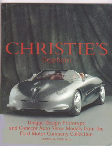 Image for Christie's Dearborn :  Unique Design Prototype and Concept Auto Show Models from the Ford Motor Company Collection
