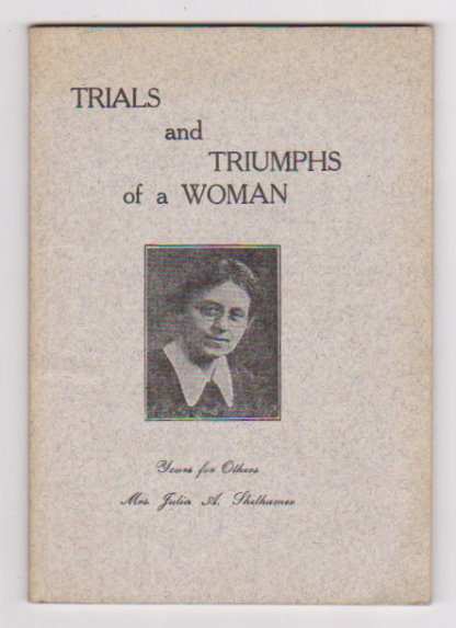 Image for Trials and Triumphs of a Woman :  Prospectus