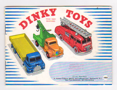 Image for Dinky Toy Catalog 1953 :  Dinky Toys, USA Edition, H. Hudson Dobson