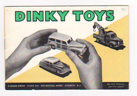 Image for Dinky Toy Catalog 1953 :  Dinky Toys and Supertoys