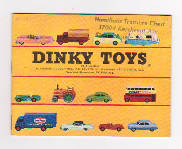 Image for Dinky Toy Catalog 1956 :  Dinky Toys, USA Edition
