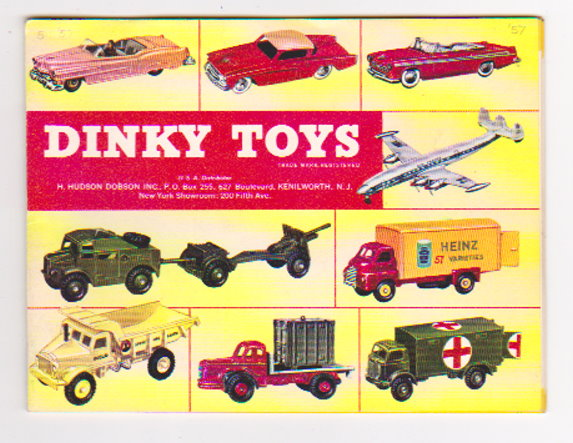 Image for Dinky Toy Catalog 1957 :  Dinky Toys, USA Edition