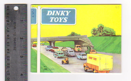 Image for Dinky Toy Catalog 1960 :  Dinky Toys, UK Edition