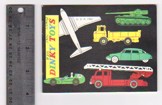 Image for Dinky Toy Catalog 1961 :  Dinky Toys, USA Edition