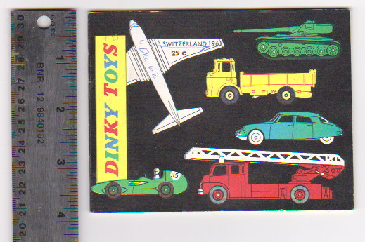 Image for Dinky Toy Catalog 1961 :  Dinky Toys, Switzerland Edition