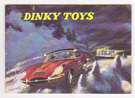Image for Dinky Toy Catalog 1962 :  Dinky Toys, UK Edition