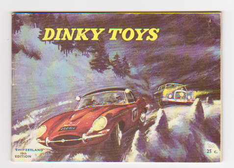 Image for Dinky Toy Catalog 1962 :  Dinky Toys, Switzerland German Edition