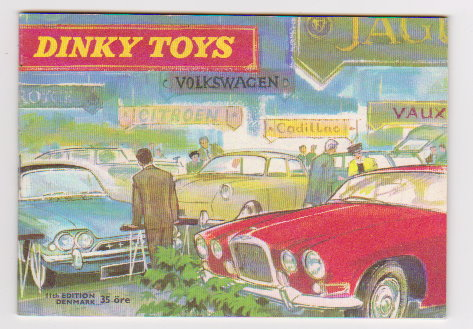 Image for Dinky Toy Catalog 1963 :  Dinky Toys, Denmark Edition