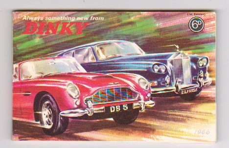 Image for Dinky Toy Catalog 1966 :  Always Something New from Dinky, UK Edition 1