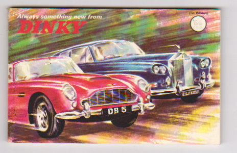 Image for Dinky Toy Catalog 1966 :  Always Something New from Dinky, USA Edition 1