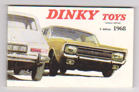 Image for Dinky Toy Catalog 1968 :  Dinky Toys, France Edition 2