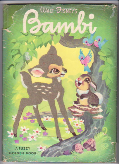 Image for Walt Disney's Bambi :  A Fuzzy Golden Book