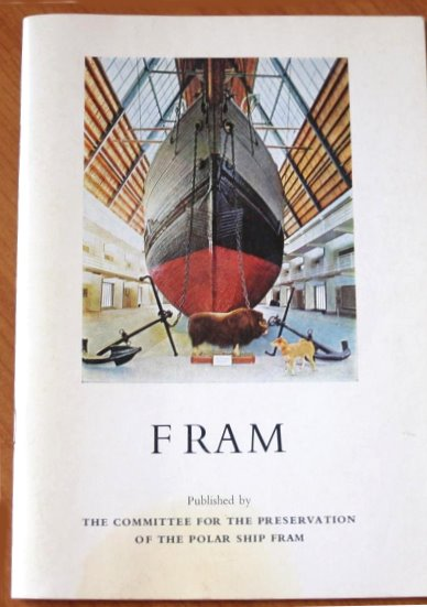 Image for Fram :  Published by the Committee for the Preservation of the Polar Ship Fram