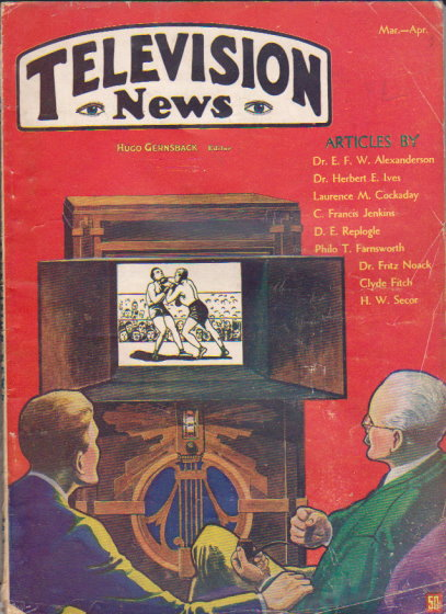 Image for Television News :  Volume 1, Number 1, March-April 1931
