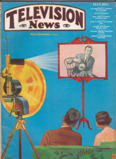 Image for Television News :  Volume 1, Number 3, July-August 1931