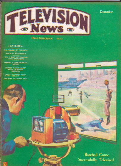 Image for Television News :  Volume 1, Number 5, November-December 1931