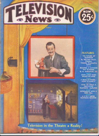 Image for Television News :  Volume 1, Number 6, January-February 1932