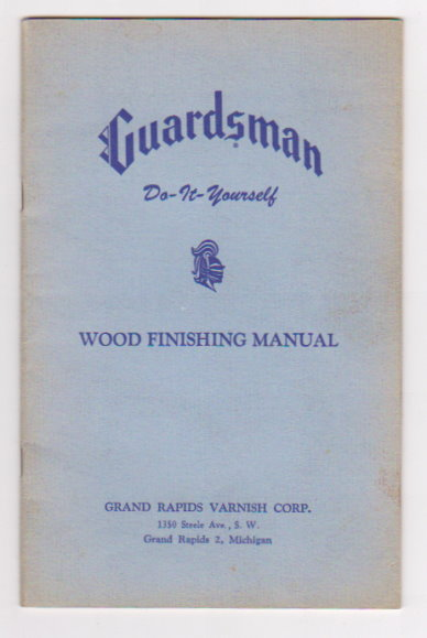 Image for Guardsman Do it Yourself Wood Finishing Manual