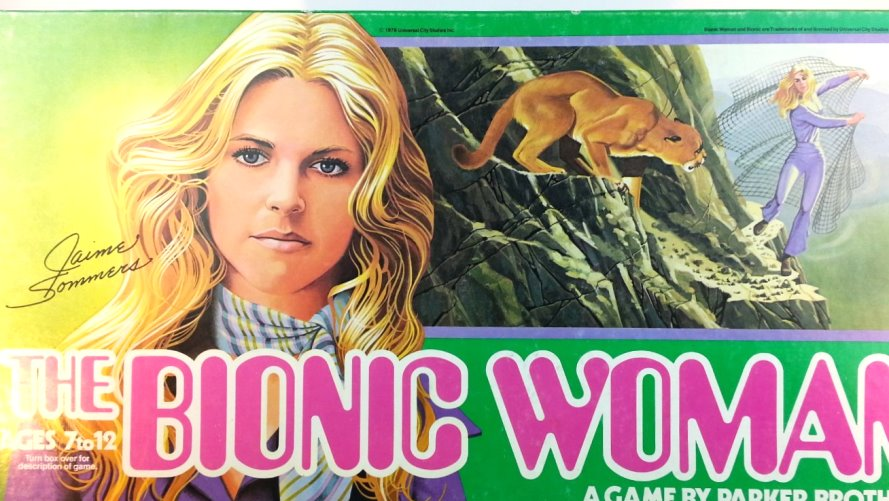 Image for Bionic Woman, the :  Vintage Board Game by Parker Brothers