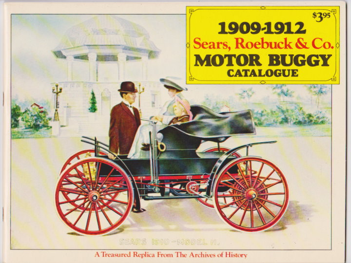 Image for 1909-1912 Sears, Roebuck and Company Motor Buggy Catalogue :  A Treasured Replica from the Archives of History