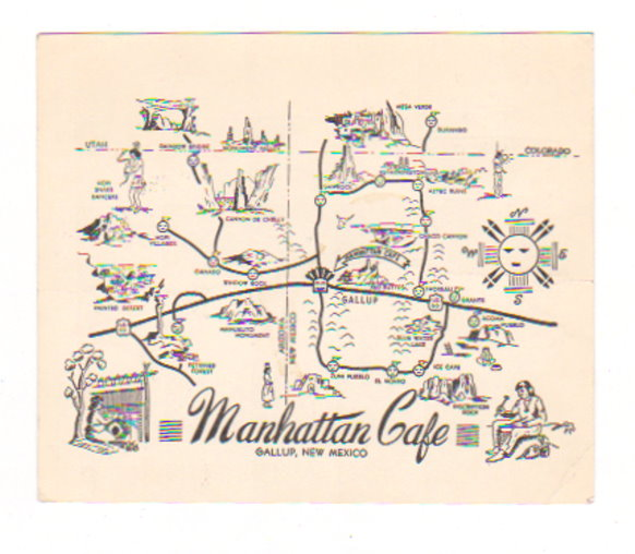 Image for Manhattan Cafe :  Gallup, New Mexico
