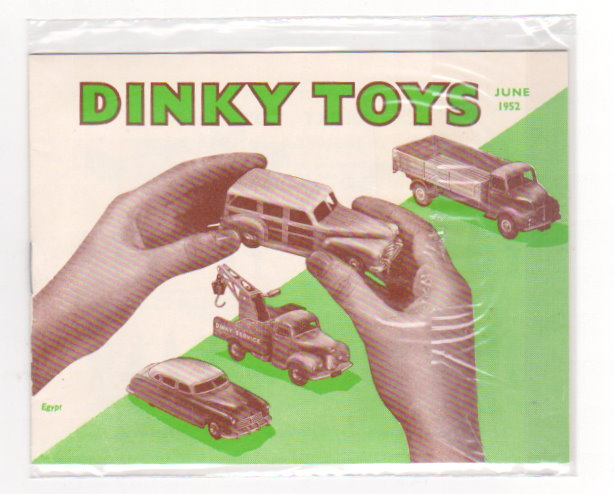 Image for Dinky Toy Catalog 1952 :  June 1952, Reproduction